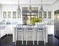 stainless/white kitchen