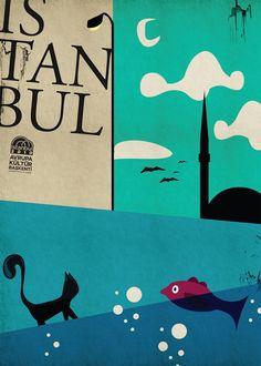witziges Istanbul-Plakat #urlaub #reise #türkei #istanbul #fernweh #vamosreisen