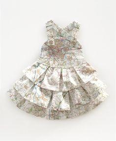 les robes geographiques
