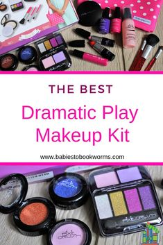 Check out the best kids makeup set, perfect for dramatic play. This set is full of realistic makeup products that kids will love playing with! Makeup Toys, Kids Makeup, Makeup Set, Little Girl Toys, Cool Toys For Girls, Gifts For Girls, Girls Toys, Toddler Learning, Fun Learning