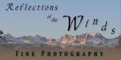 Reflections of the Winds - Fine Photography