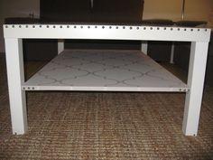 Ikea Lack coffee table hacked. Ikea Lack, Decor, Table, Lack Coffee Table, Coffee Table Hacks, Ikea Lack Coffee Table, Ikea, Coffee Table, Entryway Tables