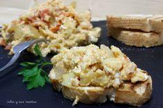Huevos perico (revuelto de huevos, cebolla y tomate) | Cocina