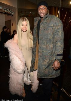 Happier times: OK! magazine reported that Khloe Kardashian has contacted her lawyers in order to stop Lamar Odom from documenting his life post rehab for his new reality show; seen in February