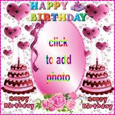 ZoStream - apps for bringing out the best in people Happy Birthday Greetings Friends, Happy Birthday Wishes Photos, Birthday Wishes Cake, Free Birthday Card, Happy Birthday Messages, Birthday Gifs, Birthday Template, Birthday Quotes, Birthday Photo Frame