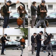 Austin Butler & Vanessa Hudgens haha does he even know what she is currently doing?