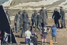 Latest photos from Game of Thrones filming in Zumaia show Theon Grejoy having a rough time