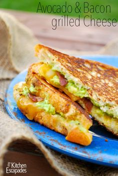 Avocado & Bacon Grilled Cheese