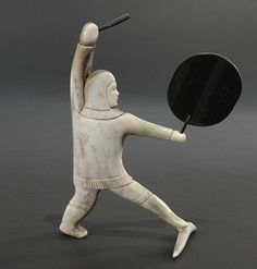 Drumdancer by Marius Kayotak, Inuit artist (N60608)