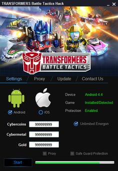 TRANSFORMERS Battle Tactics Hack