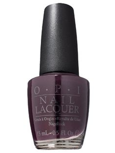 Favorite Dark Polish in a Vampy Purple    OPI Nail Lacquer in Lincoln Park After Dark