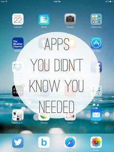 Apps You Didn't Know You Needed & a #Giveaway! #iphone #diy