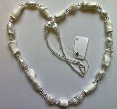 hilary bravo - papier mache necklace