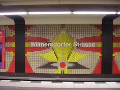 Wilmersdorfer Strasse U-Bahn Berlin U7 Station Photograph by Kristian Goddard