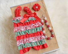 Newborn Christmas Outfit Christmas bodysuit My by ScarlettGene