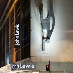 Another London icon, John Lewis department store begs to be entered.