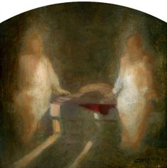 Within the Sepulchre, Oil on Panel 2011, J. Kirk Richards