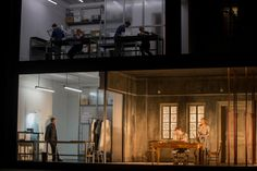 George Benjamin's Written On The Skin from the Royal Opera House. Production by Katie Mitchell. Sets by Vicki Mortimer.