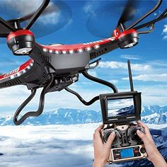 JJRC H8D FPV Headless Mode 6-Axis 2.4Ghz Gyro RTF RC Quadcopter Helicopter Drone with 5.8G 2MP HD Camera Red EU Plug with US Adapter, http://www.amazon.com/dp/B014HAGXGI/ref=cm_sw_r_pi_awdm_1EgDwb0DMPM7S