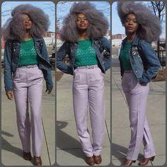 GRAY NATURAL HAIR