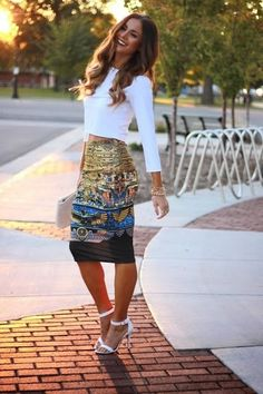 7. Pencil Skirt Más