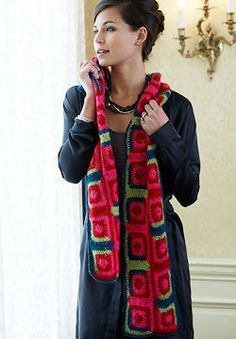 Lace Sequin - Log Cabin Lace Sequin - Log Cabin Scarf