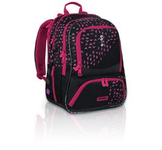 Fantastyczny fioletowo- czarny plecak do szkoły od 3 do 6 klasy. Uwielbiany przez dziewczyny, które czują, że wyrosły z dziecięcych motywów.