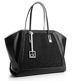 Calvin Klein Womens Eliza Winged Shopper Tote Bag Handbag - http://bags.bloggor.org/calvin-klein-womens-eliza-winged-shopper-tote-bag-handbag/