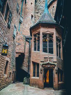 nilenna: wanderthewood: Château du Haut-Kœnigsbourg, Alsace, France by Matt Northam ♡ Innsbruck, Alsace, Hallstatt, Madrid, Neuschwanstein, Barcelona, Wild Forest, Harry Potter Aesthetic, Diagon Alley