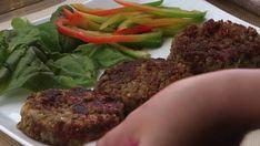 Hamburguesa vegana - Te va a encantar esta receta de hamburguesa vegana de lentejas Das schönste Bild für diy 100 , da - Vegan Lentil Burger, Vegan Vegetarian, Vegetarian Recipes, Healthy Recipes, Tasty Videos, Food Videos, Healthy Foods To Eat, Healthy Snacks, Veggie Recipes