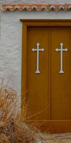 brown doors