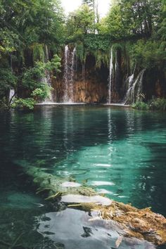 Plitvice Lakes National Park | makerantala Nature Aesthetic, Travel Aesthetic, Beautiful Waterfalls, Beautiful Landscapes, Beautiful Places To Travel, Cool Places To Visit, Landscape Photography, Nature Photography, Photo Voyage