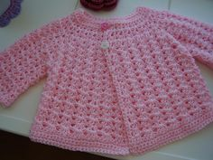 Looking for your next project? You're going to love In The Pink Baby Crochet Top by designer CrocKnits.