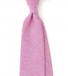 Handrolled Pure Cashmere Solid 8cm Tie