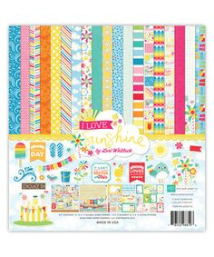 Take a look at this I Love Sunshine Paper & Accessory Set on zulily today!