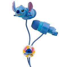 Stitch earbuds @ Disneystore.com
