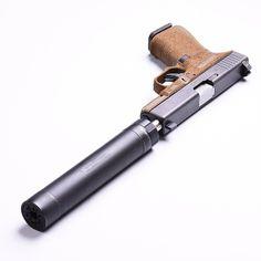 All else fails - open up a can... An EMS Gripwerks Full Reduction Glock 19 Gen 4 w/ Advance Armament Tirant 9MM Can.