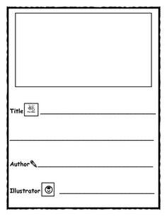 Writer's Workshop Templates for Kindergarten