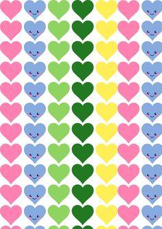 Бесплатный цифровой сердце скрапбукинга бумага - ausdruckbares Geschenkpapier - халява   MeinLilaPark - Сделай сам печатные и загрузки