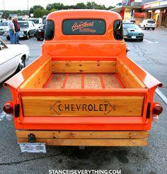 Vintage good old fashioned real metal Chevrolet trucks