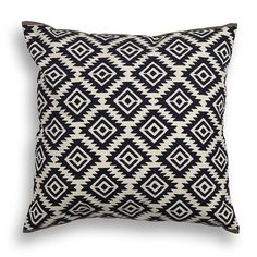 Transform the appearance of your room with this bold block printed Aztec inspired cushion with contrast border.Available in three colours. Coordinate with our Mandore diamond print cushions. Our exquisite home products are handcrafted by skilled artisans using local materials. We work closely with craftsmen to adapt traditional Indian designs into contemporary products for urban lives. Design is our passion and there is nothing more motivating than being surrounded by beautiful prints and…