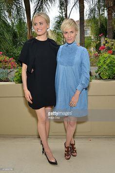 Photo d'actualité : Taylor Schilling and Judith Godreche attend the...