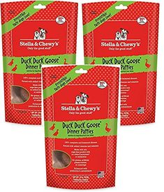 Stella and Chewys 14 Ounce Freeze Dried Duck Duck Goose (Pack of Dog Food Recipes, Frozen, Packing, Duck Duck, Amazon, Dogs, Pie, Bag Packaging, Amazons