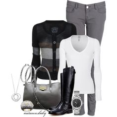 Fall work outfit CUTE!!!! I want!!