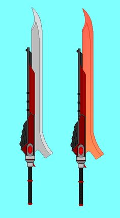RWBY OC Weapon request by RyuRyugami.deviantart.com on @DeviantArt