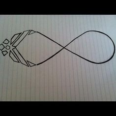air force infinity sign -- beautiful tattoo idea