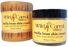 Vanilla Bean Skin Cream by Wild Carrot
