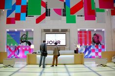 Studio Dumbar (part of Dept) is an international branding agency specialised in visual identity and communication design. Retail Signage, Wayfinding Signage, Signage Design, Event Branding, Branding Agency, Environmental Graphics, Environmental Design, Glass Film Design, Exibition Design