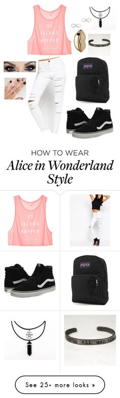 """""""idk what to call this"""" by jazzybear-4eva on Polyvore featuring mode, Victoria's Secret, ASOS, STELLA McCARTNEY, Vans, JanSport en Tiffany & Co."""
