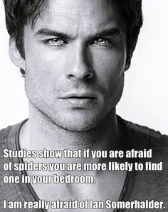 Totally!! Deathly afraid. I would scream, keel-over, and be out like a light kinda scared.